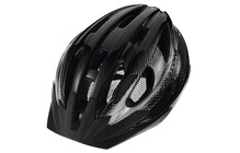 Cratoni Velon Casque noir-argent brillant